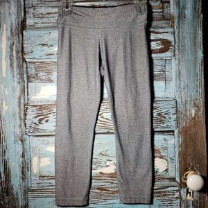 Lululemon Athletica Grey Capri Leggings Size 4